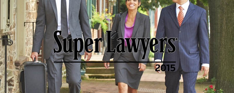 Jeff Wong and Danny Cevallos voted Super Lawyers in Pennsylvania